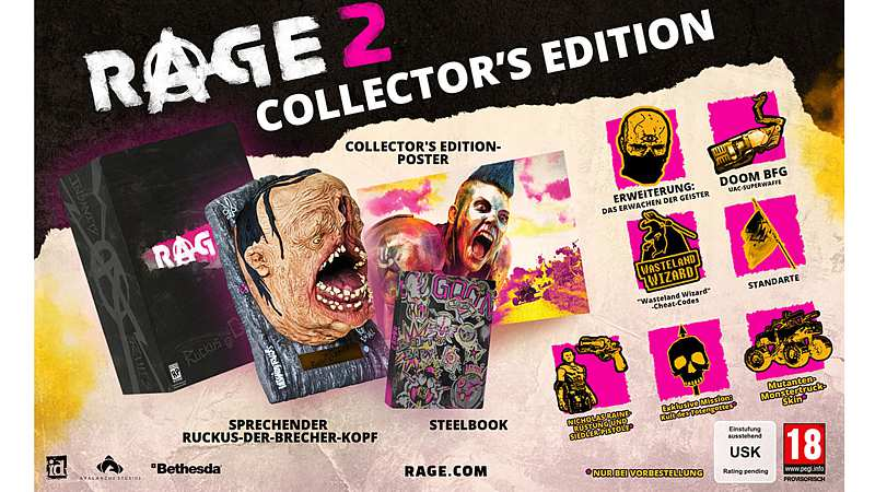 Rage 2 - Collectors Edition (Playstation 4)