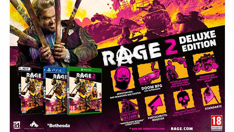 Rage 2 - Deluxe Edition (Xbox One)