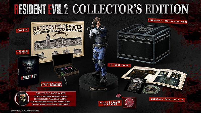 Resident Evil 2 - Collectors Edition (Playstation 4)