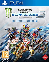 Monster Energy Supercross 3 (Playstation 4)