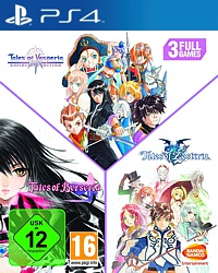 Tales of Trilogy: Vesperia + Berseria + Zestiria (Playstation 4)