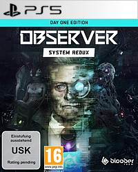 Observer: System Redux - Day 1 Edition (Playstation 5)