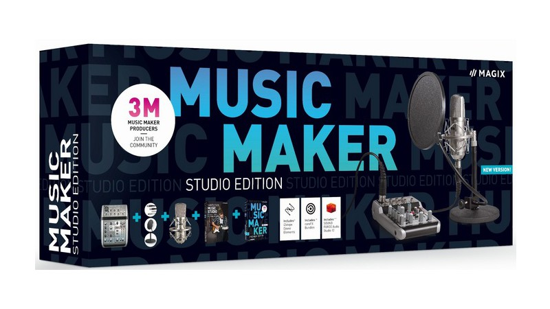 Magix Music Maker 2020 - Studio Edition