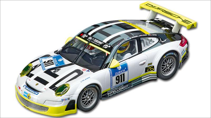 Carrera 132 Auto: Porsche GT3 RSR Manthey Racing Livery