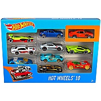 Hot Wheels: 10er Geschenkbox Autos
