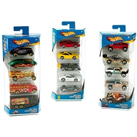 Hot Wheels: 5er Set Autos
