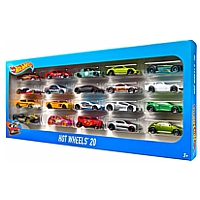 Hot Wheels: 20er Geschenkbox Autos