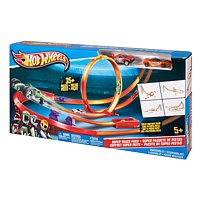 Hot Wheels: Track Builder Pistenset