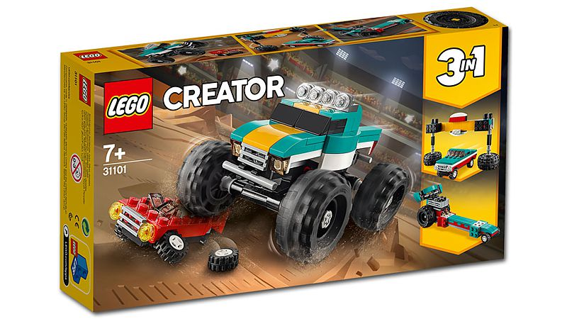 LEGO Creator: 3-in-1 Monster-Truck (31101)