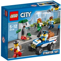 LEGO City: Mobile Polizei-Starter-Set (60136)