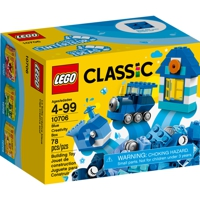 LEGO Steine & Co.: Kreativ-Box Blau (10706)