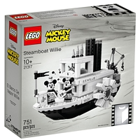 LEGO Exklusive: Disney Steamboat Willie - Mickey Mouse (21317)
