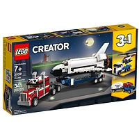 LEGO Creator: 3-in-1 Transporter für Space Shuttle (31091)