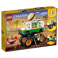 LEGO Creator: 3-in-1 Burger-Monster-Truck (31104)