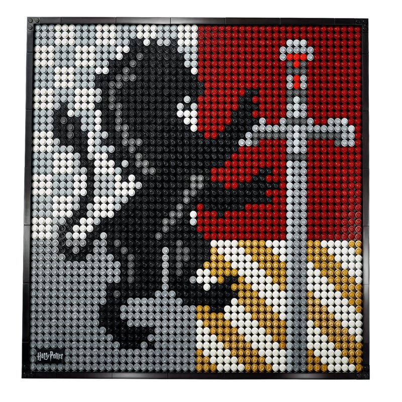 LEGO Art: Harry Potter - Hogwarts Wappen (31201)