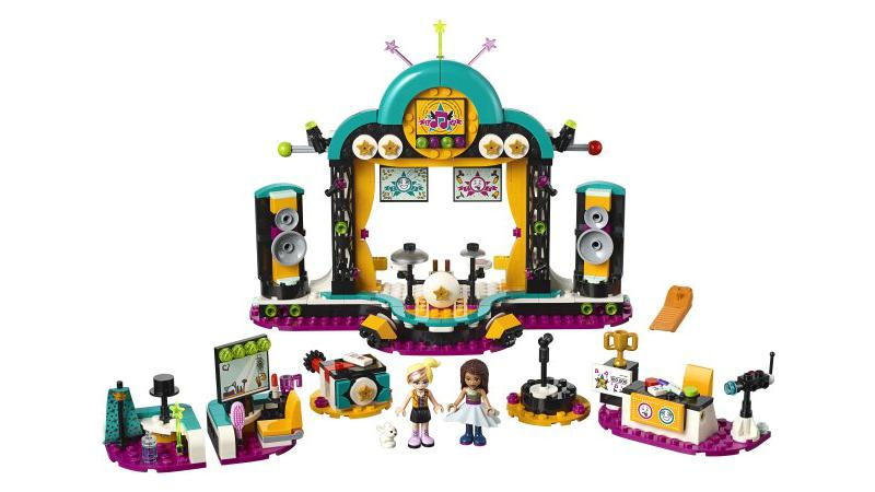 LEGO Friends: Andreas Talentshow (41368)