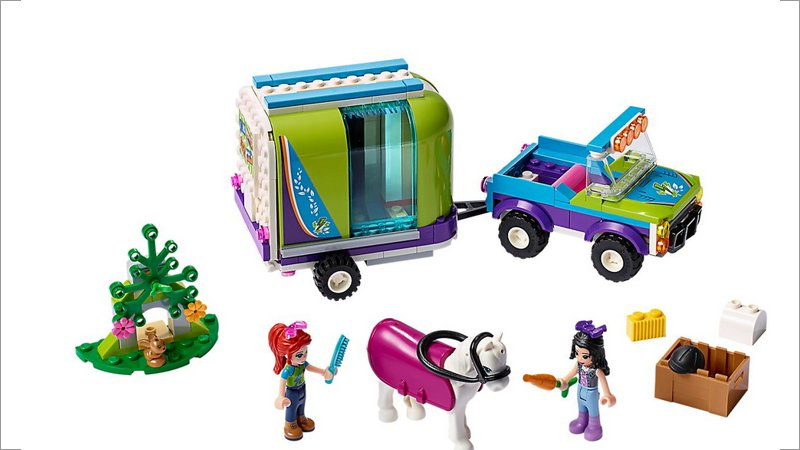 LEGO Friends: Mias Pferdetransporter (41371)