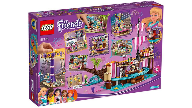 LEGO Friends: Vergnügungspark von Heartlake City (41375)