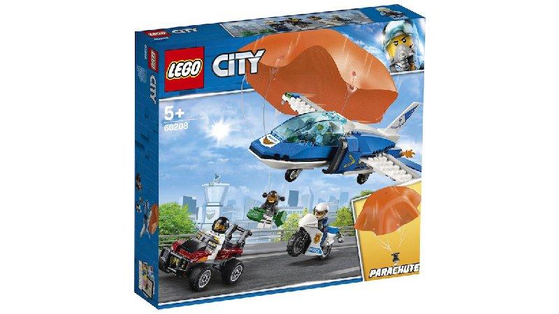 LEGO Baukästen & Sets LEGO® City 60210 Polizei Flieger Stützpunkt