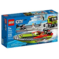 LEGO City: Rennboot-Transporter (60254)
