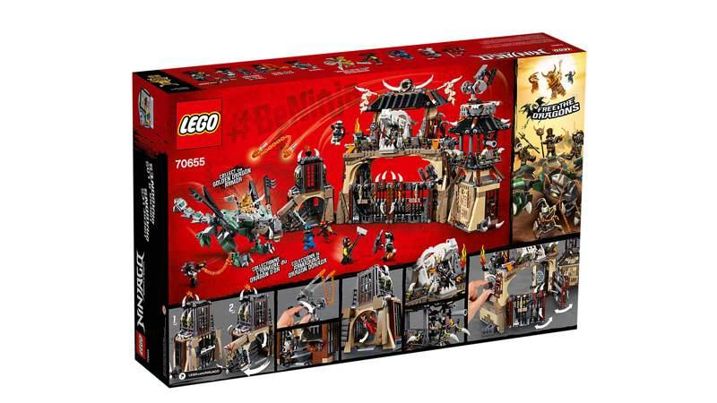 70655 LEGO® NINJAGO Drachengrube Baukästen & Konstruktion
