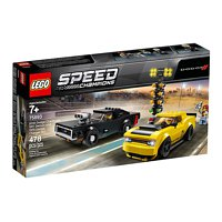 LEGO Speed Champions: Dodge Challenger SRT Demon und 1970 Charger R/T (75893)