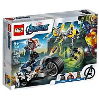 LEGO Super Heroes: Avengers - Speeder-Bike Attacke (76142)