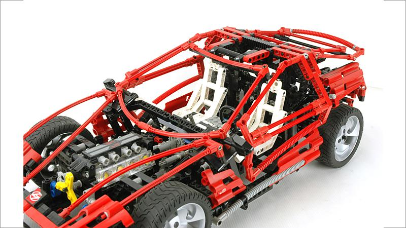 LEGO Technic: Super Car - Jahr 1999 (8448)