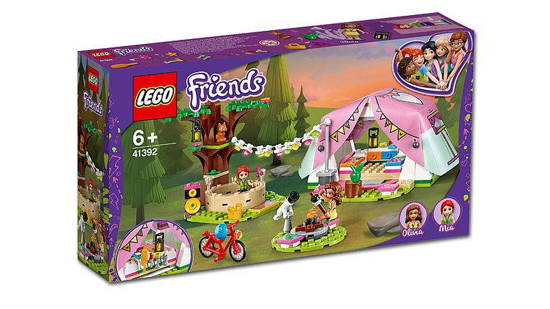 LEGO Friends: Camping in Heartlake City (41392)