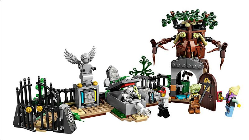 LEGO Hidden Side: Geheimnisvoller Friedhof (70420)