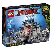 LEGO Ninjago: Ultimativ ultimatives Tempel-Versteck (70617)