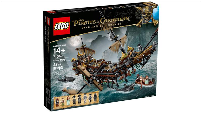 LEGO Disney Pirates of the Caribbean: Silent Mary (71042)