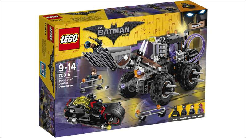 LEGO Super Heroes: Batman Movie - Doppeltes Unheil durch Two-Face (70915)