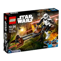 LEGO Star Wars: Actionfigur Scout Trooper & Speeder Bike (75532)