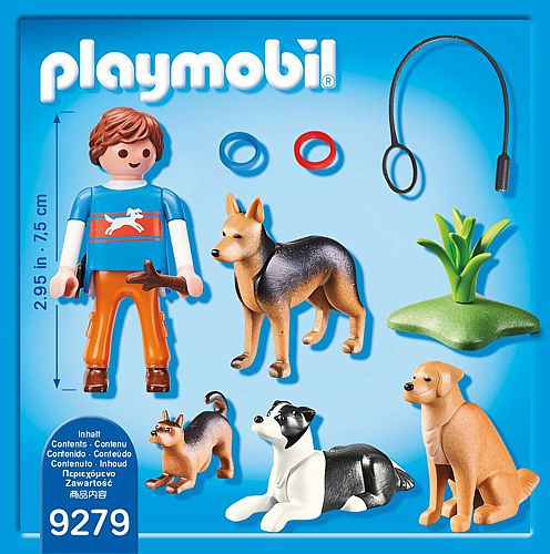 PLAYMOBIL City Life: Hundetrainer (9279)