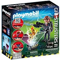 PLAYMOBIL Ghostbusters: Peter Vankman - PLAYMOGRAM 3D (9347)