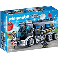 PLAYMOBIL City Action: SEK-Truck mit Licht und Sound (9360)