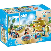 PLAYMOBIL Family Fun: Aquarium-Shop (9061)