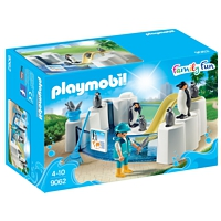 PLAYMOBIL Family Fun: Pinguinbecken (9062)