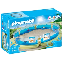 PLAYMOBIL Family Fun: Meerestierbecken (9063)