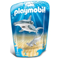 PLAYMOBIL Family Fun: Hammerhai mit Baby (9065)