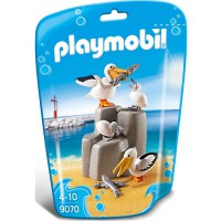 PLAYMOBIL Family Fun: Pelikanfamilie (9070)