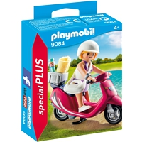 PLAYMOBIL Special Plus: Strand-Girl mit Roller (9084)
