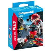 PLAYMOBIL Special Plus: Felssprengung (9092)