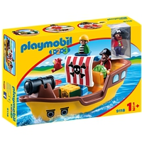 PLAYMOBIL 1-2-3: Piratenschiff (9118)