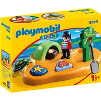 PLAYMOBIL 1-2-3: Pirateninsel (9119)
