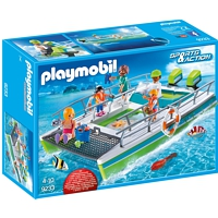 PLAYMOBIL Sports&Action: Glasbodenboot mit Unterwassermotor (9233)