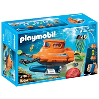 PLAYMOBIL Sports&Action: U-Boot mit Unterwassermotor (9234)