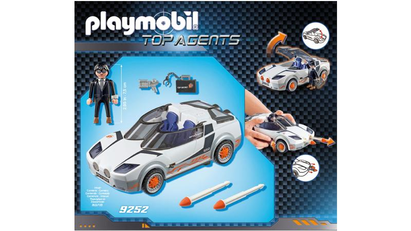 playmobil top agents agent ps spy racer 9252