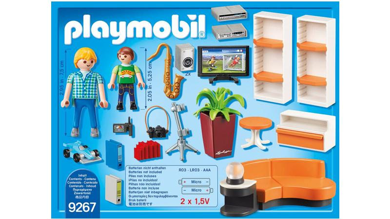 Playmobil city life wohnzimmer 9267 spielwaren for Wohnzimmer 9267